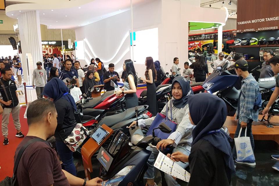 GIIAS 2018: Deretan Maxi Yamaha Bikin Booth Tak Pernah Sepi