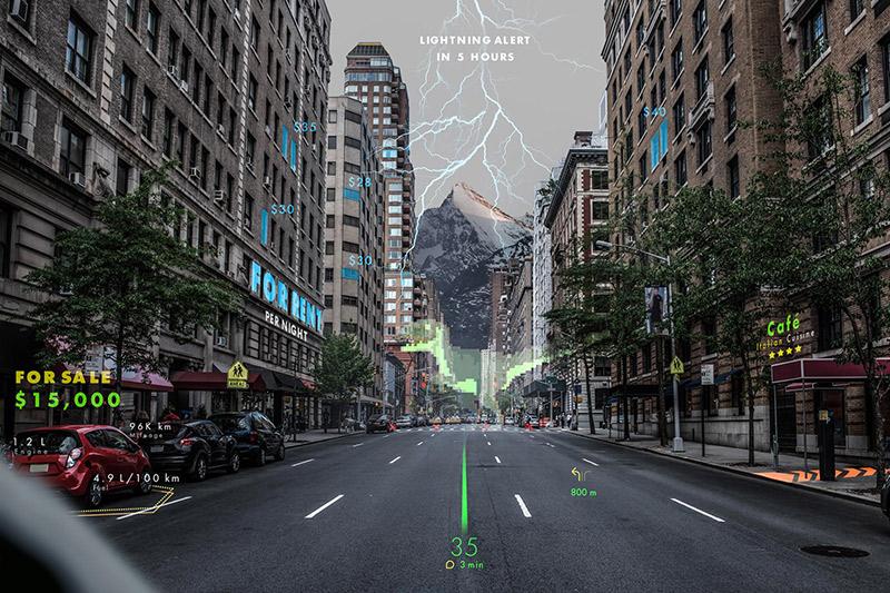 Hyundai Bakal Pakai Sistem Navigasi Hologram