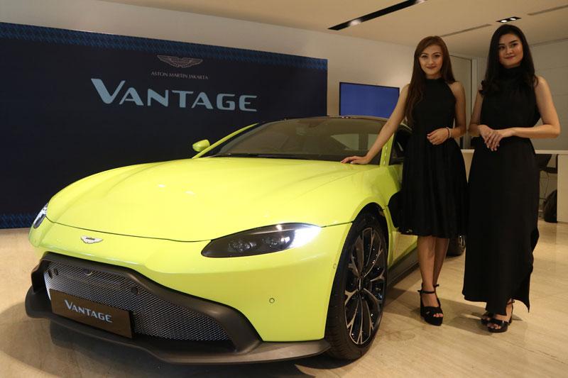 Aston Martin Vantage Meluncur, Sasar Anak Konglomerat