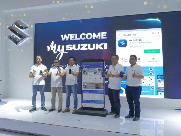 Beli Suku Cadang Resmi, Kini Dapat Melalui Aplikasi My Suzuki