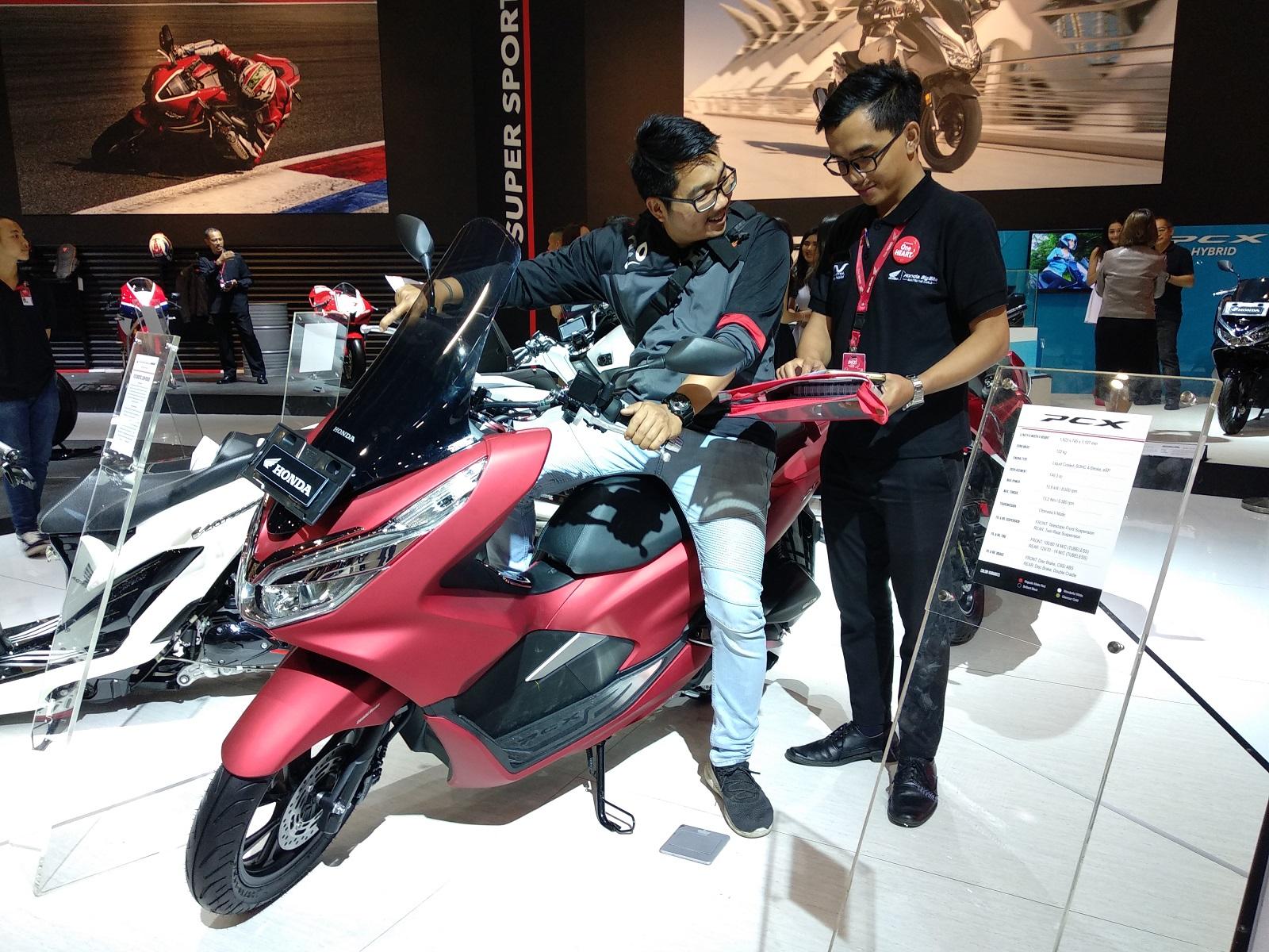 IMOS 2018: Honda PCX dan Vario Jadi Motor Terlaris Honda