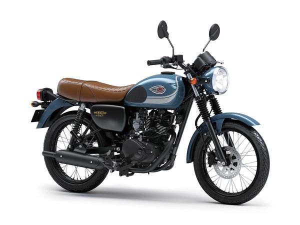 Kawasaki W175 2019, Makin Segar Dengan Warna dan Striping Baru