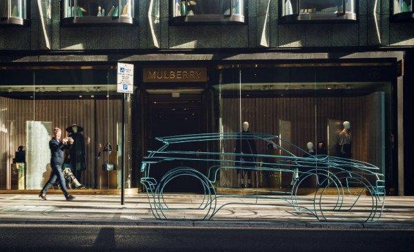 Land Rover Beri Petunjuk Desain Baru Evoque Baru Dengan Sketsa Riil