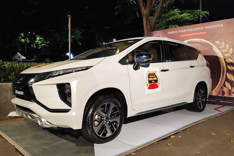 Penjualan Xpander Sentuh 100 Ribu di Indonesia