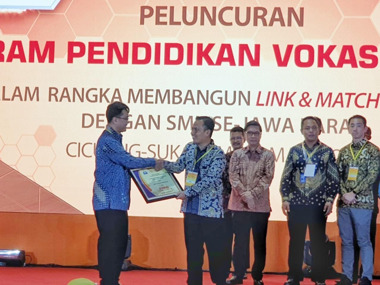 Yamaha Indonesia Konsisten Dukung Program Pendidikan Vokasi Industri di Jawa Barat
