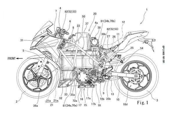 Kawasaki Bikin Motor Listrik Pakai Rangka Ninja 400