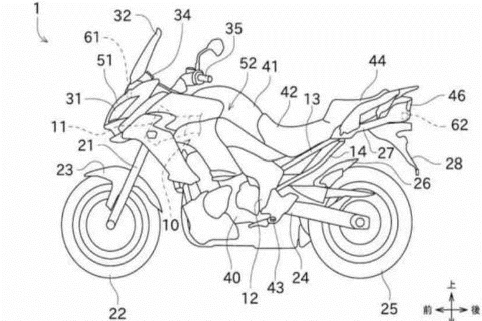 Motor Kawasaki Bakal Pakai Radar Nih, Bisa Halau Ancaman Bahaya