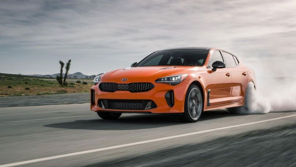 New Kia Stinger Asoi Buat Ngedrift