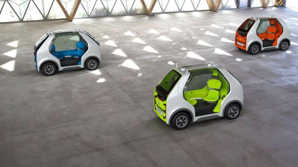 Renault Kenalkan Transporter Mini Otonom