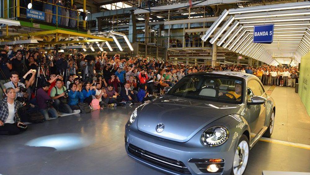 Bye, Bye VW Beetle