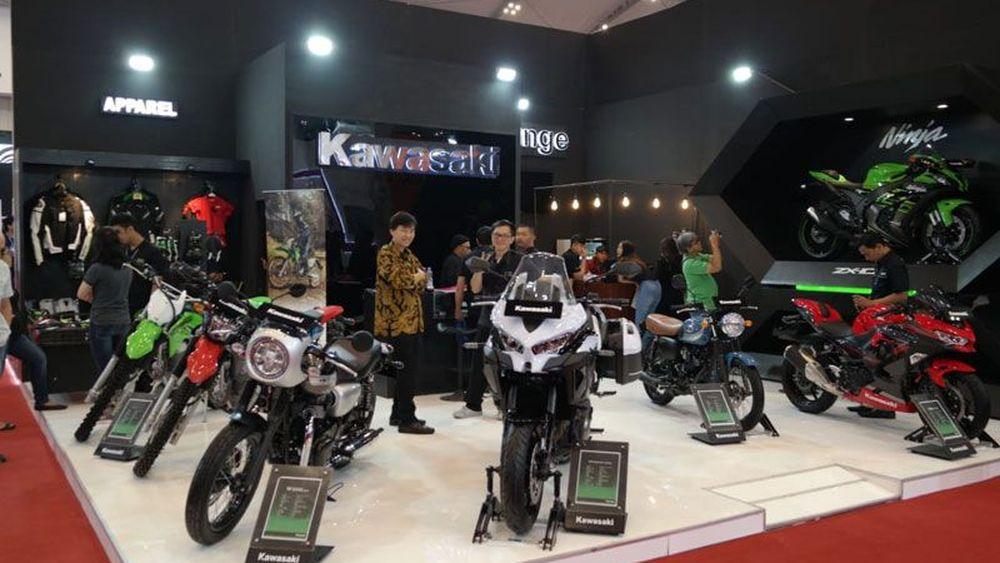 Kawasaki Luncurkan 3 Motor Baru di GIIAS 2019