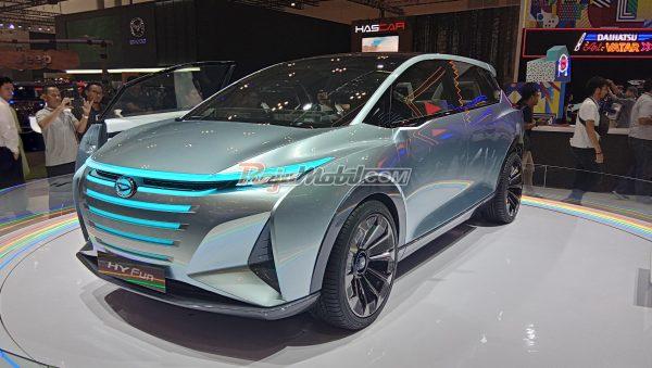 GIIAS 2019 : Daihatsu Hy-Fun, Mobil Konsep MPV Untuk Generasi Milenial