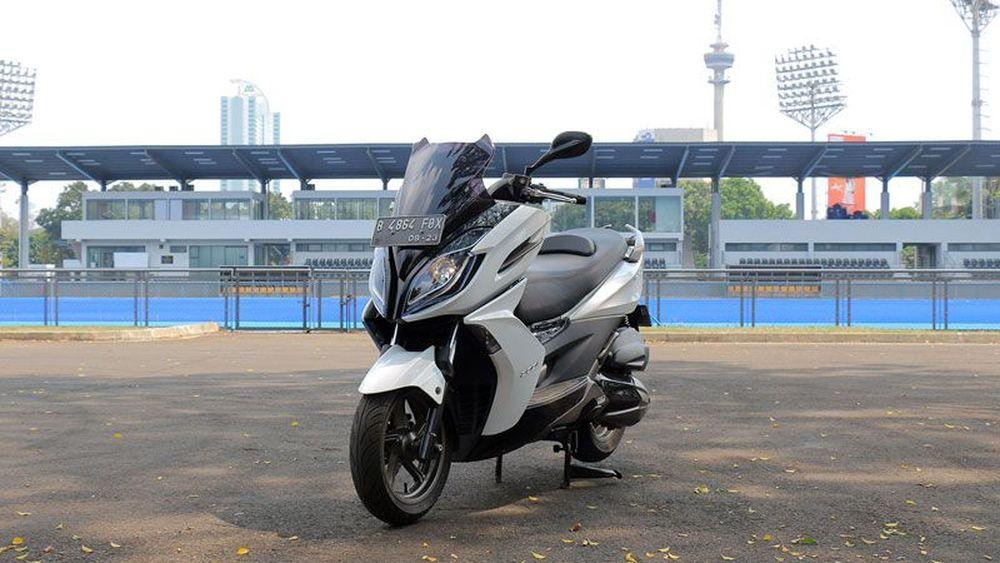 Test Ride Kymco K-XCT 200i