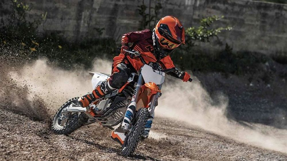 KTM Luncurkan Motor Trail Listrik untuk Anak-anak