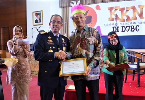 SIM Sabet Penghargaan dari Direktorat Jenderal Bea dan Cukai