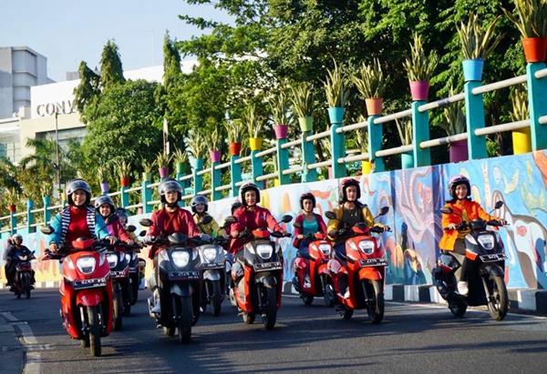 1.500 Ladies Maticers Ikuti Genio On The Street East Java