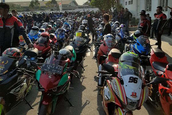 Ribuan Riders Suzuki Ramaikan Sunmori