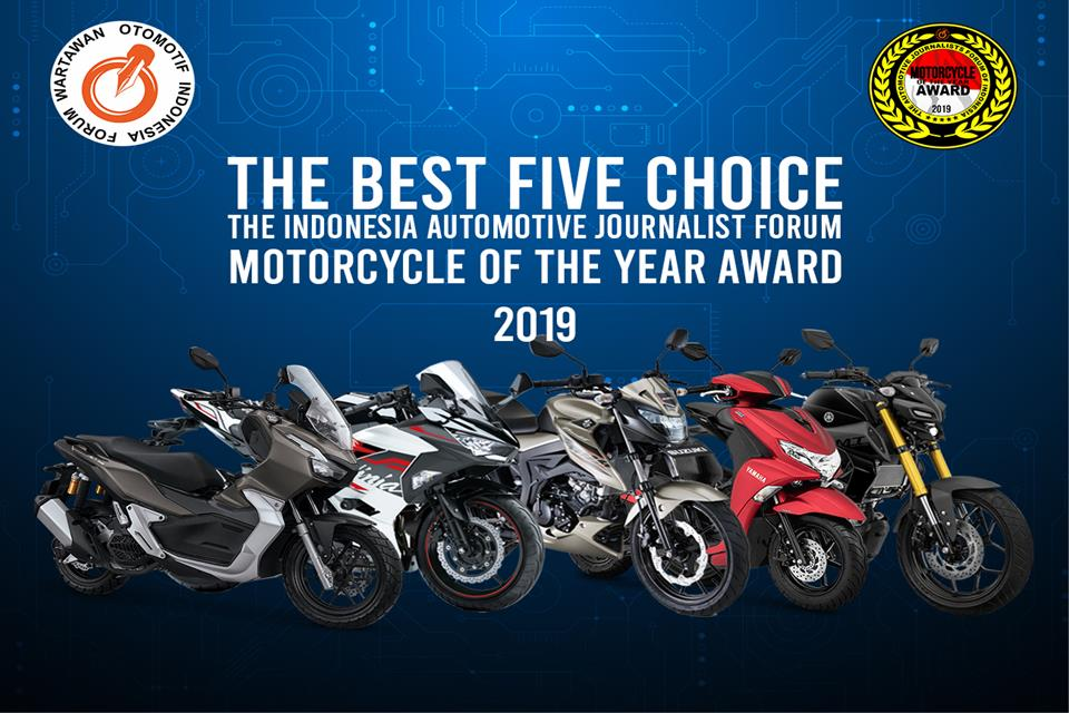 Ini 5 Nominasi Forwot Motorcycle Of The Year 2019