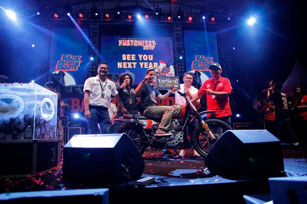 Kustomfest 2019 Resmi Berakhir, Pria Madium Bawa Pulang Otoseno