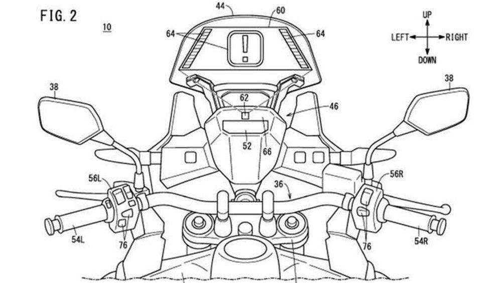 Honda Kembangkan Head-Up Display di Motor