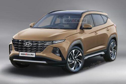 Sketsa Hyundai Tucson 2020, Lebih Berotot dan Macho