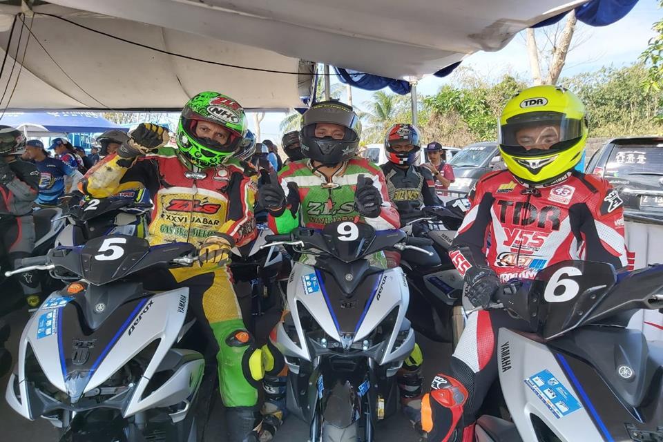 Kualifikasi Aerox Fun Race, Time Pembalap Pelajar Bagus-bagus