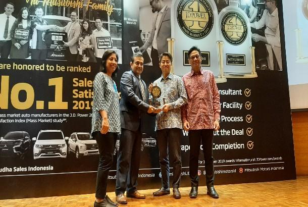 Mitsubishi Kembali Sabet Penghargaan Kepuasan Konsumen Versi J.D Power