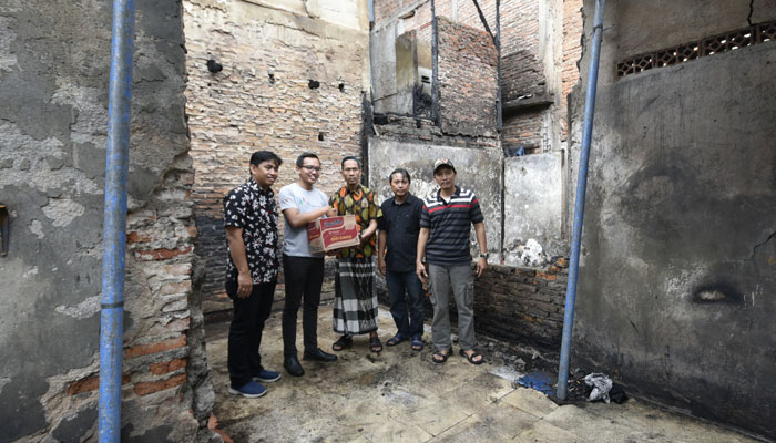 Yayasan Wahana Artha Bantu Ringankan Korban Banjir & Kebakaran