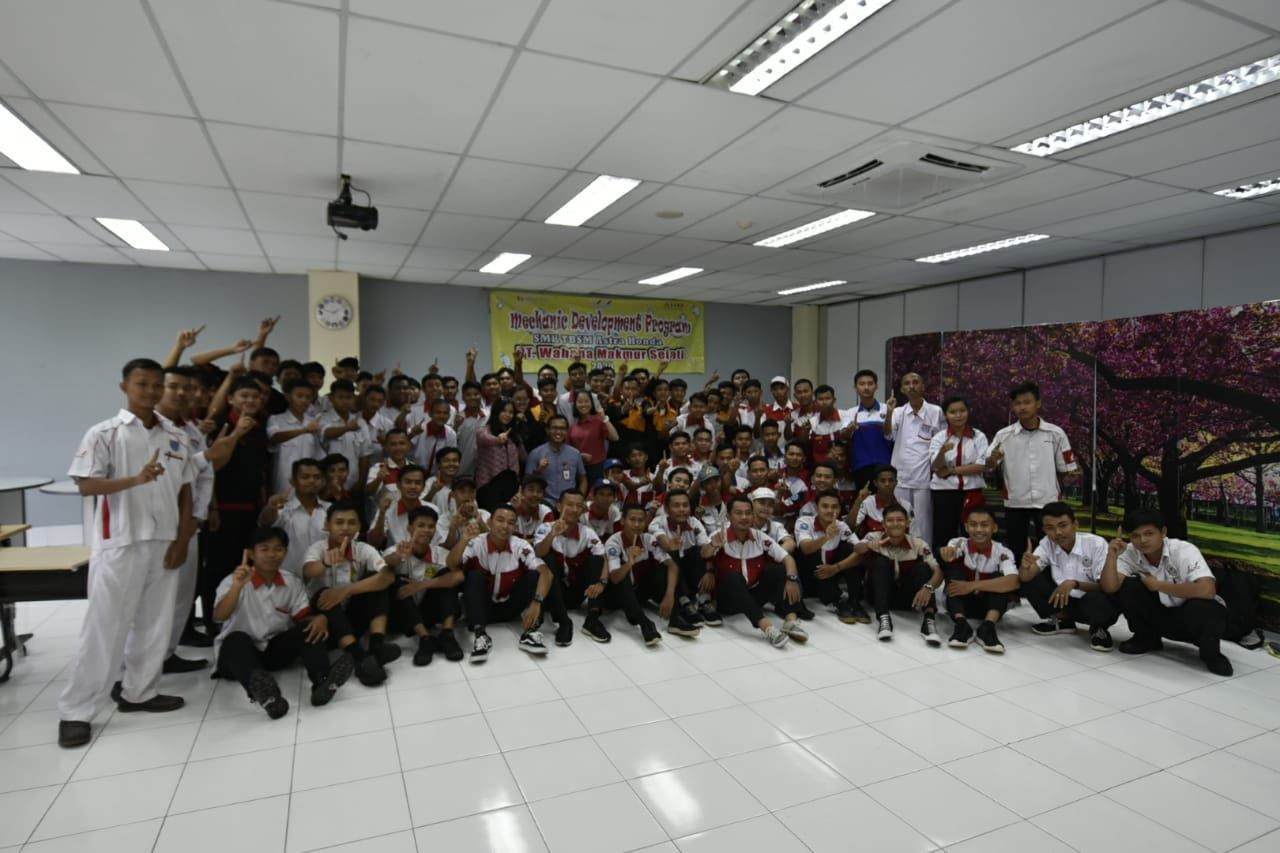 200 siswa SMK binaan Wahana Honda Ikut Tes Kerja