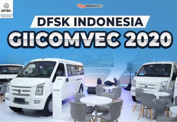 Kunjungan Menteri Perindustrian RI di Booth DFSK GIICOMVEC 2020