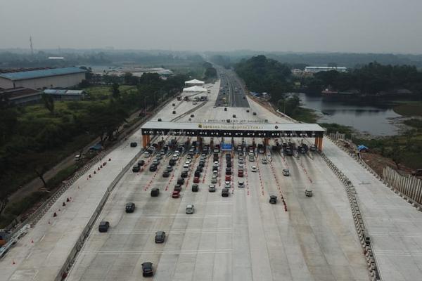 Lebaran Tahun Ini Lewat Tol Turun 61% dibanding Tahun Lalu