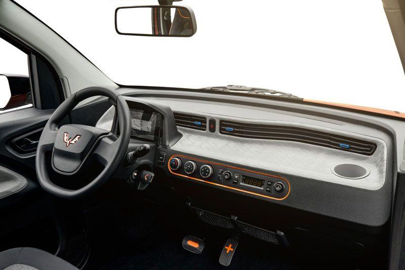 Wuling Pamer Interior Mobil Listrik Mungil