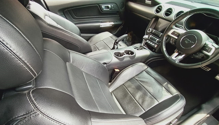 Wow, Interior Mustang GT Sule disulap Jadi Ciamik