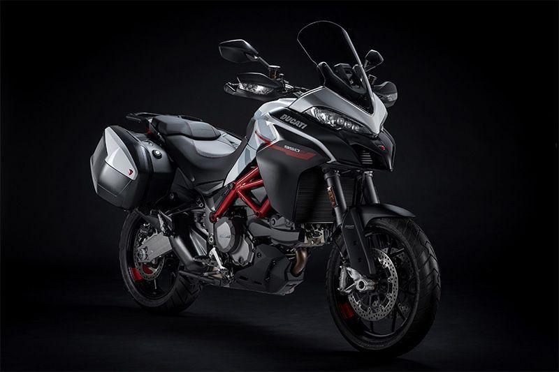 Ducati Tawarkan Multistrada 950 S Berkelir Putih