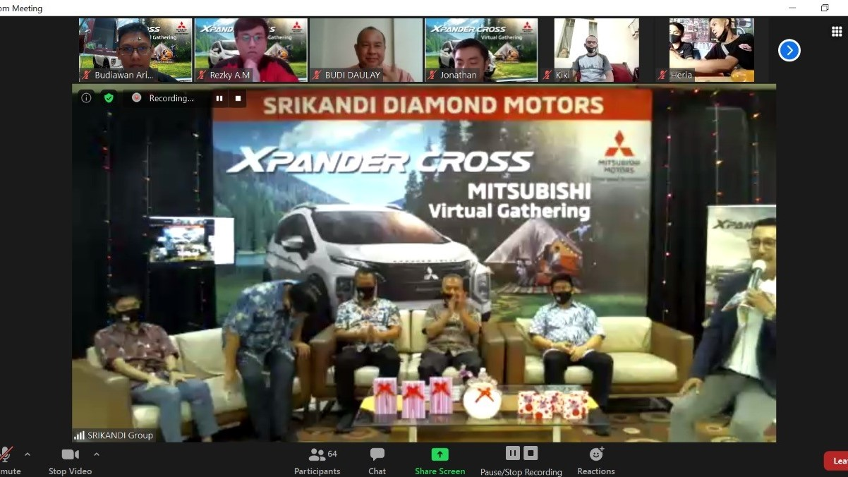 Rindu Konsumen, Mitsubishi Gelar Virtual Customer Gathering