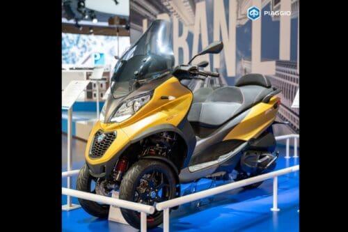 Piaggio MP3 500 HPE Sport Advance Meluncur di Indonesia, Punya Gigi Mundur