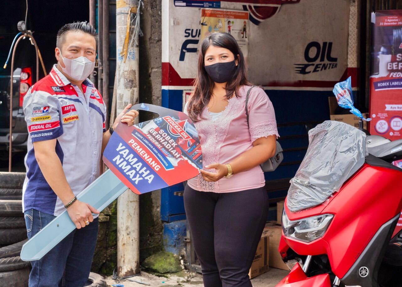 Sobek Berhadiah Federal Oil Bantu Gerakan Perekonomian Bengkel
