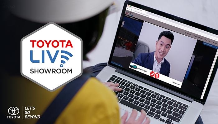 Toyota Live Showroom Hadir Untuk Mudahkan Konsumen