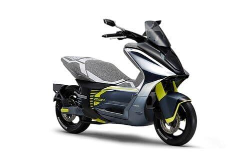 Yamaha Ajukan Merek Dagang E01, Skuter Listrik Mirip NMax