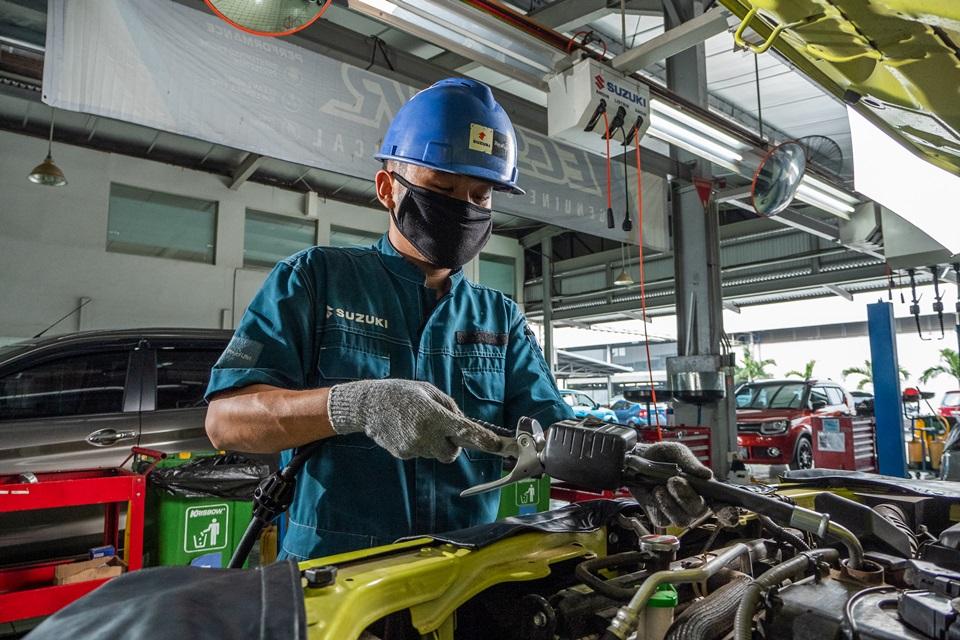 Suzuki Peduli Banjir di Semarang Dapat Service Gratis Untuk Sepeda Motor, dan Gratis Pemeriksaan Untuk Mobil