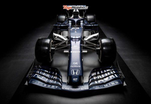 Scuderia AlphaTauri Persiapkan Diri Hadapi Musim Balap F1 2021 Dengan Meluncurkan Mobil Balap AT02