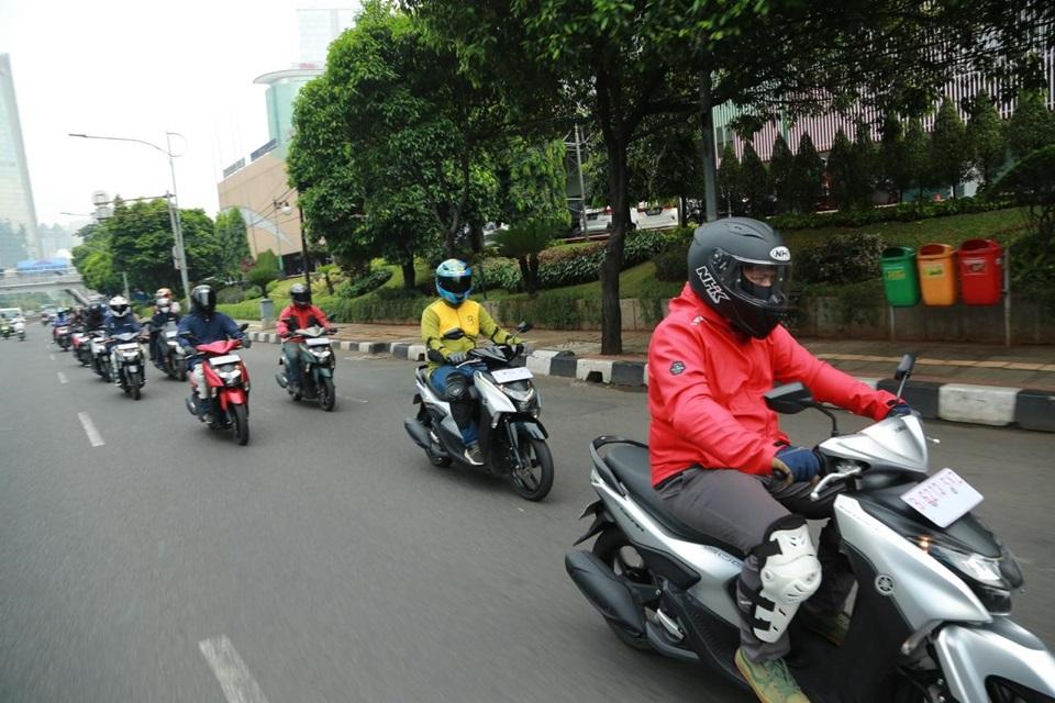 Yamaha Tantang Komunitas Untuk GEAR 125 Challenge Sambil Nikmati Yamamori di Jakarta