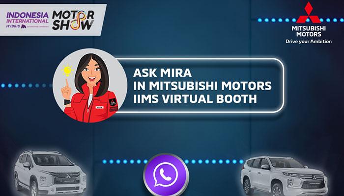 Booth Mitsubishi di IIMS Hybrid 2021 Bisa Diakses Secara Virtual