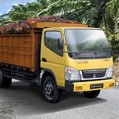 Review Mitsubishi Colt Diesel FE 74 HD 2017