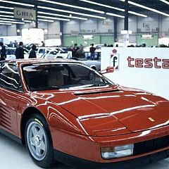 Review Ferrari Testarossa 1988