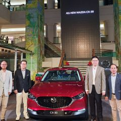 Compact Crossover SUV Mazda All New CX-30 Meluncur Di Awal Tahun 2020
